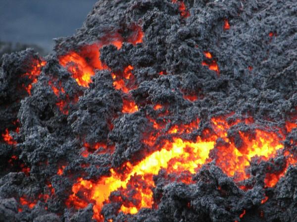 Volcan Pacaya en activité